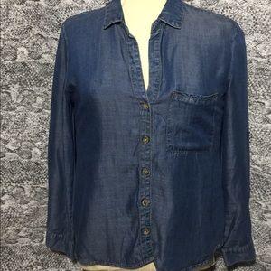 Denim shirt cloth & stone Size L